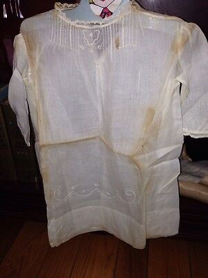 Antique Vintage Baby Christening Gown...Needs Cleaning