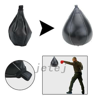 Boxing Speed Bag Boxing Exercise Speedbag Speedball Black High Quality