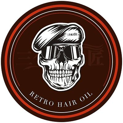 Mens Charming Hair Skeleton Slicked Oil Pomade Strong Restoring Hair Style Wax