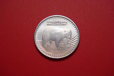 2012 Colombia 50 pesos, Spectacled Bear, animal wildlife coin