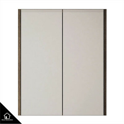 White Oak Timber Bathroom Shaving Mirror Cabinet With 600/750/900/1200/1500mm
