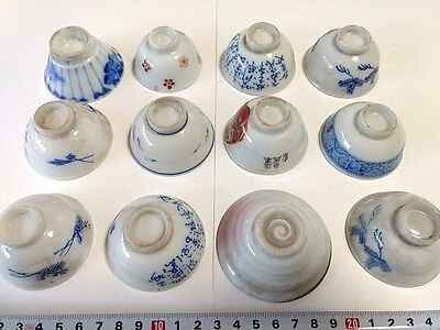 WWII Japanese Military Soldier Army Navy Discharge Memorial SAKE CUP set-K-