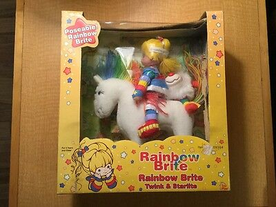 Vintage 2003 Rainbow Brite Twink and Starlite in Original Box Unopened