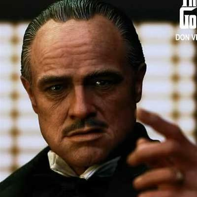 Hottoys Hot Toys The Godfather High Don Vito Corleone Figure Genuine Pa Aq1365