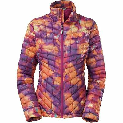 $199 The North Face ThermoBall Jacket Coat Geo Floral Pritn CTL48VT size S