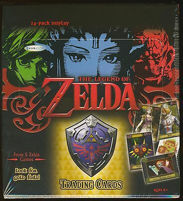 2016 Enterplay The Legend of Zelda Trading Cards SEALED 24-pack Display Box