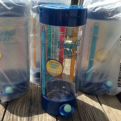 NEW Lot 4 Captain Morgan's Parrot Bay Rum Cocktail Jug Margaritaville tiki party