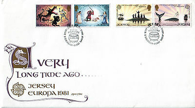 Jersey 1981 FDC Folklore Europa