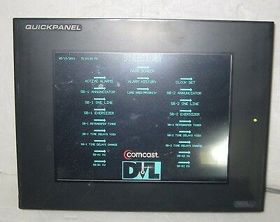 Tested Fanuc Total Control Quickpanel Cqpictde0000 Nice Screen (1 Year Warranty)