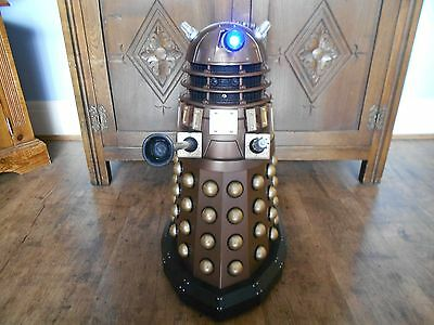 Dr Who dalek 18 inch interactive