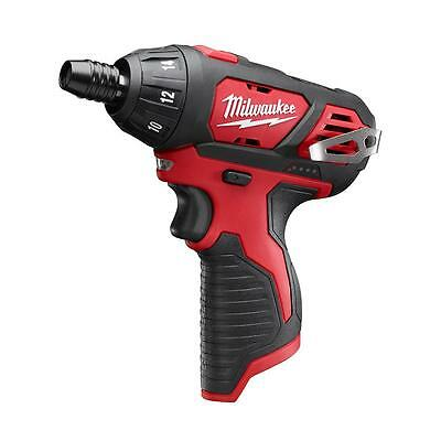 "New Milwaukee M12 1/4"" Hex Screwdriver Bare Tool Model # 2401-20"
