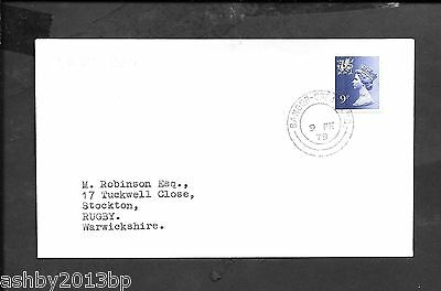 Railway 1979 Cover To Rugby Bangor-Crewe Tpo Double Ring Cds On Last Day Of Run
