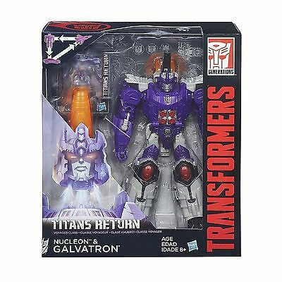 Transformers Generations Voyager Class Titans Return GALVATRON Action Figure