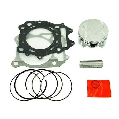 Piston Kit & Cylinder Head Base Top End Gasket For Suzuki Burgman AN400 STD 83mm
