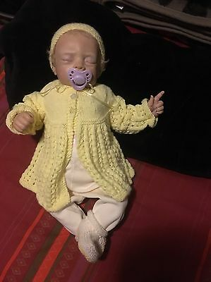 reborn baby doll 19in Comes With Tummy Plate