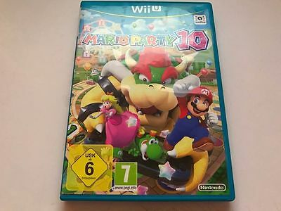 Case Only - Mario Party 10 Wii U **no Disk/manual*