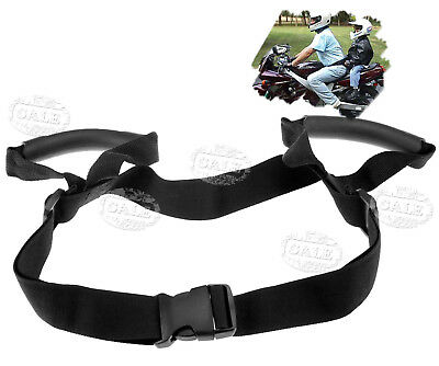 Motorcycle Bike Pillion Grab Handle For Baby Kids Seat Strap Safety Belt Harness