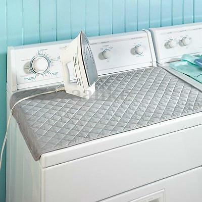 Ironing Mat Laundry Pad Washer Dryer Cover Board Heat Resistant Blanket