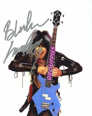 W.A.S.P. Blackie Lawless  signed 8x10 Autograph Photo RP -  SEE FREE PHOTO OFFER