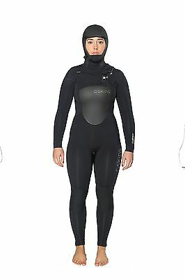 C Skins Wired Hooded Dryknit Winter Wetsuit 6:5 Women 2016/ 2015