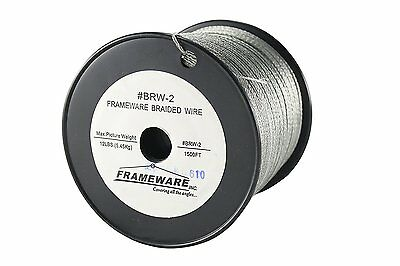 Frameware BRW2 - #2 Braided Picture Wire - 1500 feet
