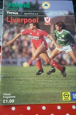 Ireland Olympic Xi v Liverpool