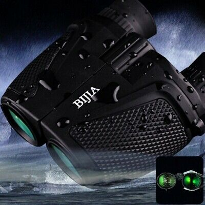 BK4 Ultra Clear Waterproof 12 x 25 Hunting Night Vision Binoculars 83m/1000m