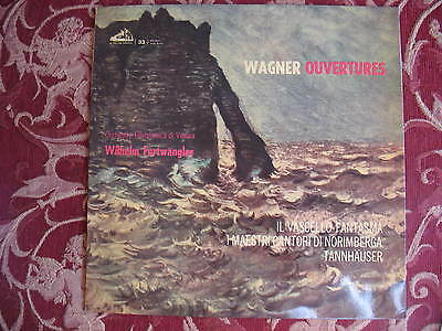 Furtwangler Wagner Ouvertures QALP 10152  ITALY 1ED SEALED