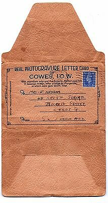 Cowes Letter card 1943 from J Naylor HSD