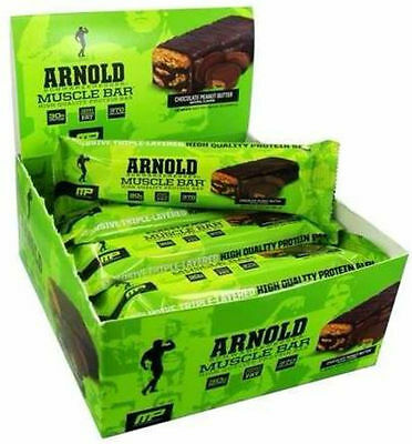Arnold Series Muscle Protein Bar 90g x 12 bars