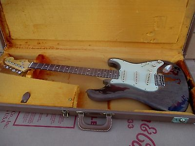 Fender Stratocaster Rory Gallagher Custom Shop Relic Usa - Mint Condition
