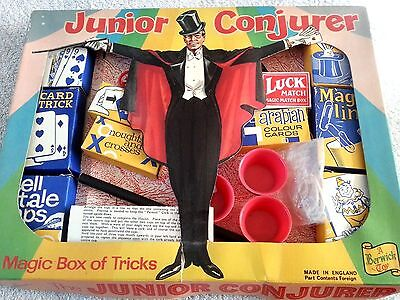 The Junior Conjurer Vintage Magic Box Of Tricks Set A Beswick Toy Collectable