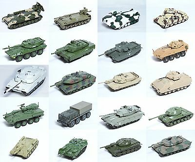 1:72 Scale Military Vehicle Precision Diecast Collectable Model Tank New #4