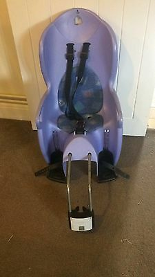 Child Bike Seat Hamax Bicycle Child Seat From 9 Months up to 22 Kg