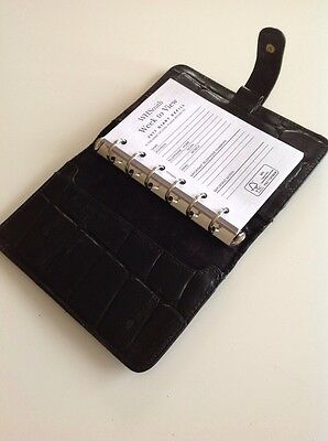 Beautiful Vintage Mulberry Pocketbook In Black Congo