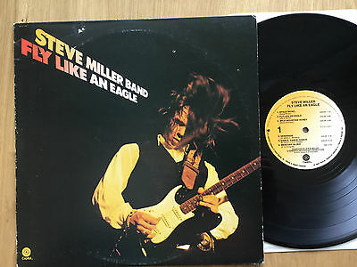 Steve Miller Band: Fly Like An Eagle. Capitol SW 511497. US First Press LP EX+