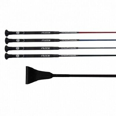 FLECK Carbon Ultralight Jump Jumping Bat Whip Black 50/60cm FREE FAST DELIVERY