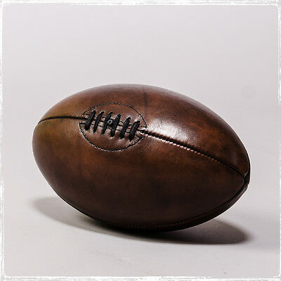 Vintage Style Rugby Football Balls And Boxing Gloves And More