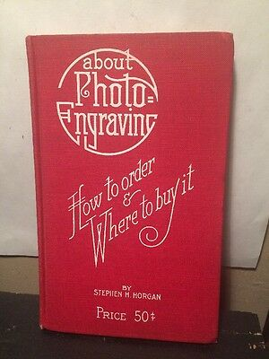 About Photo EnGraving, How To Order And Where To Buy It 1914 Book