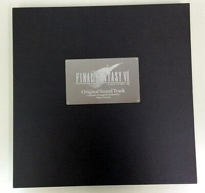 F/S Used Final Fantasy VII Original Sound Track CD jp Music Japanese Anime Manga