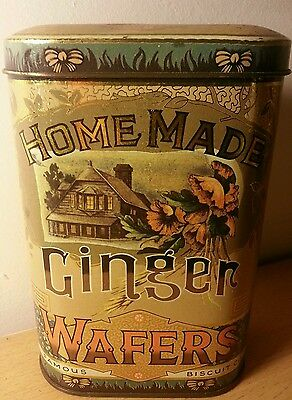 Daher Ginger Wafers Biscuits tin