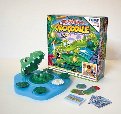 Crunching Crocodile By Tomy The Electronic Crunching Munching Crazy Game