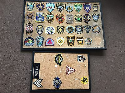 American Police Badge / Patch Collection (x37)