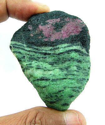 636.00 Ct Natural Ruby Zoisite / Anyolite Loose Gemstone Rough Specimen - 4418