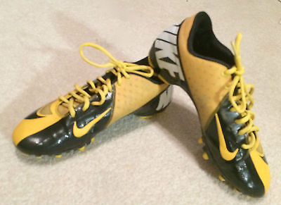 Cleats Nike Men's Mens Size Sz 9 Turf Sneakers Sports Shoes Yellow Outdoor Pro