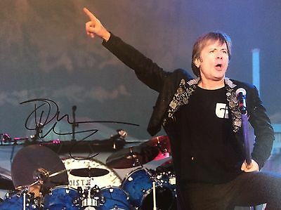 Authentic Bruce Dickinson Hand signed photo 8x10 W/COA Iron Maiden