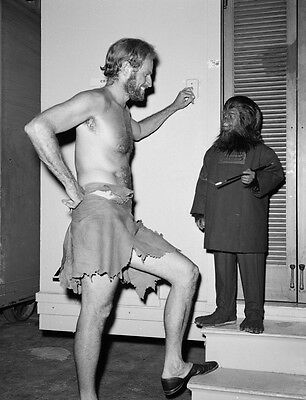 New 6 X 4 Photograph Behind The Scenes Making Of Planet Of The Apes 7