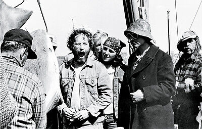 New 6 X 4 Photograph Behind The Scenes Making Of Jaws 8