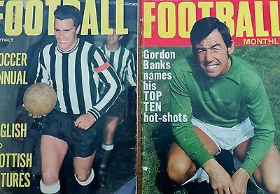 Charles Buchan's Football Monthly - August and December 1969