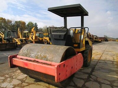 2000 Dynapac CA152D Smooth Single Drum Roller Compactor, only 3201 Hrs